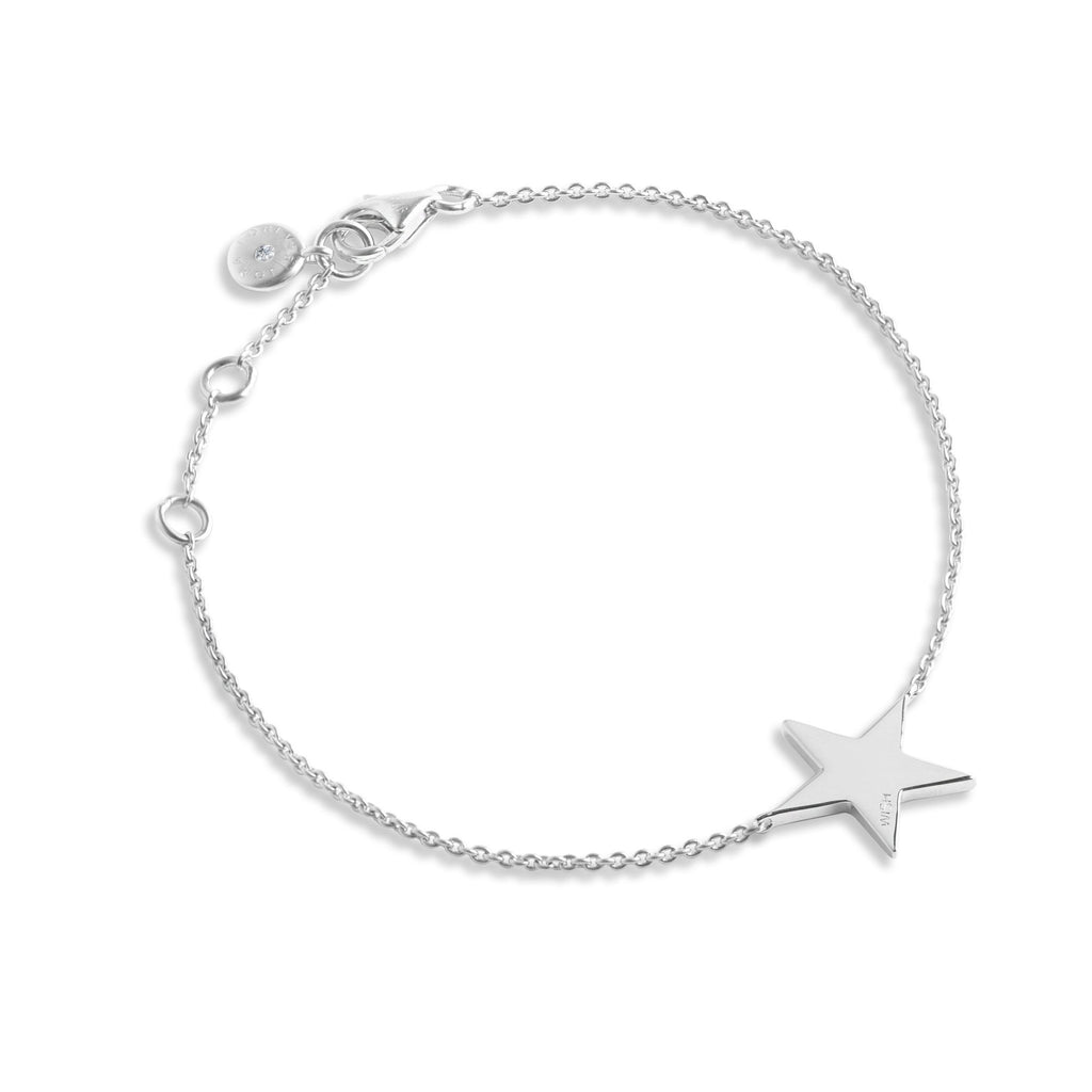 Secret Halo - Fine Jewellery - Sterling Silver - Bracelets - Forever Joma - The Line Bracelet - star wish FJ022