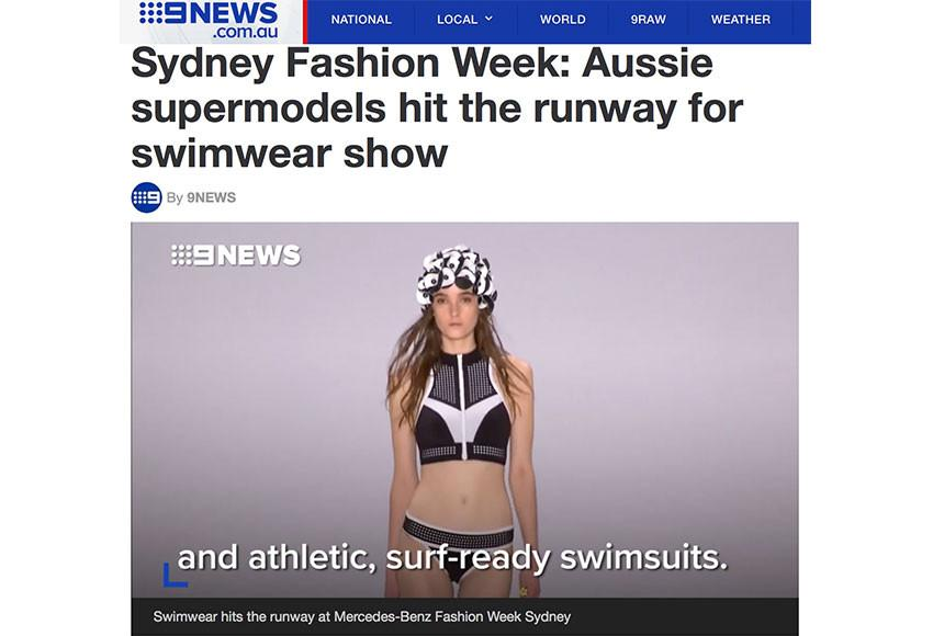 Channel 9 News | @mbfw | May 2017