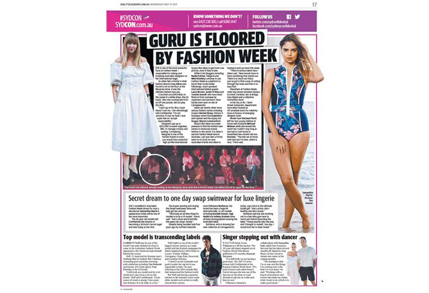 Daily Telegraph | @mbfw | May 2017