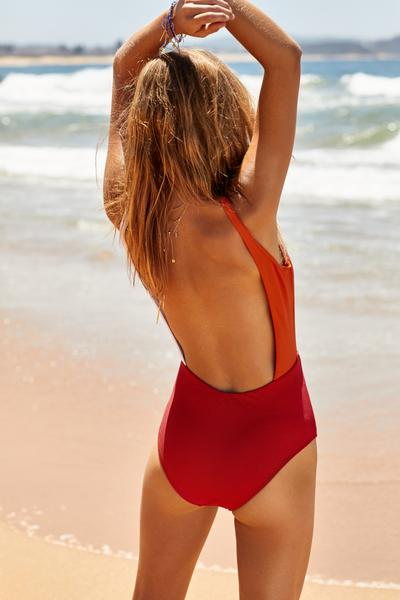 Salsa One Piece | Cherry & Tangerine