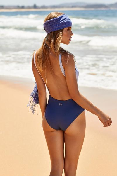 Salsa One Piece | Navy & Serenity