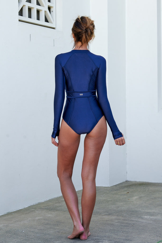 Long Sleeve Paddle Suit  | Navy