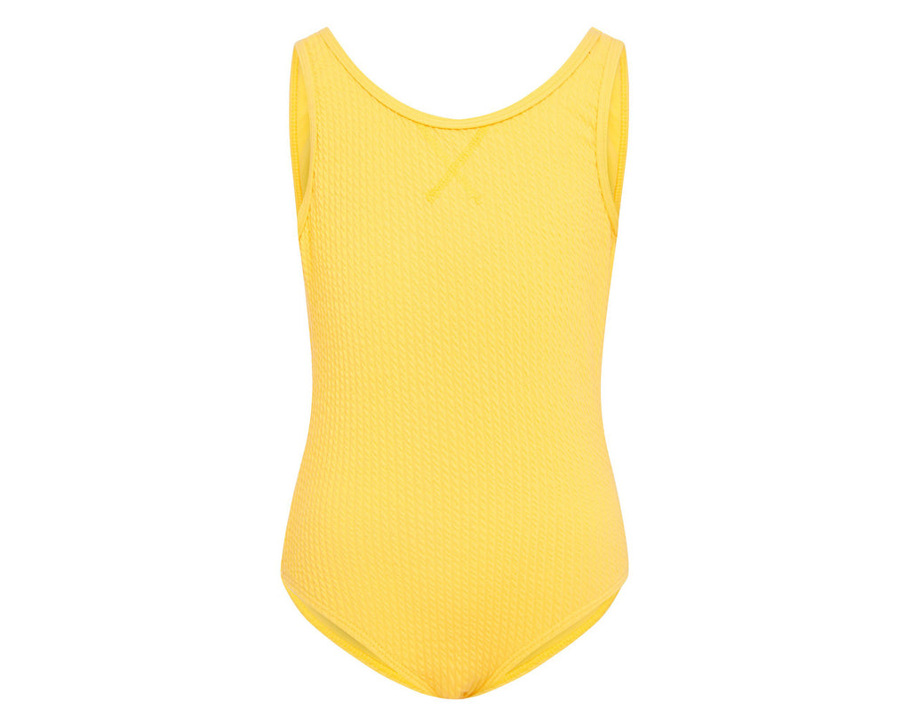 Amelie Canary Yellow Scoop one piece