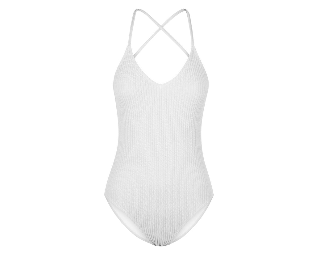 Margot One Piece Suit | Vanilla