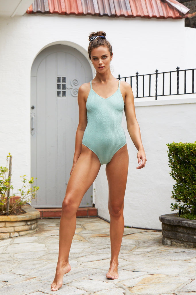 Margot One Piece Suit | Spearmint