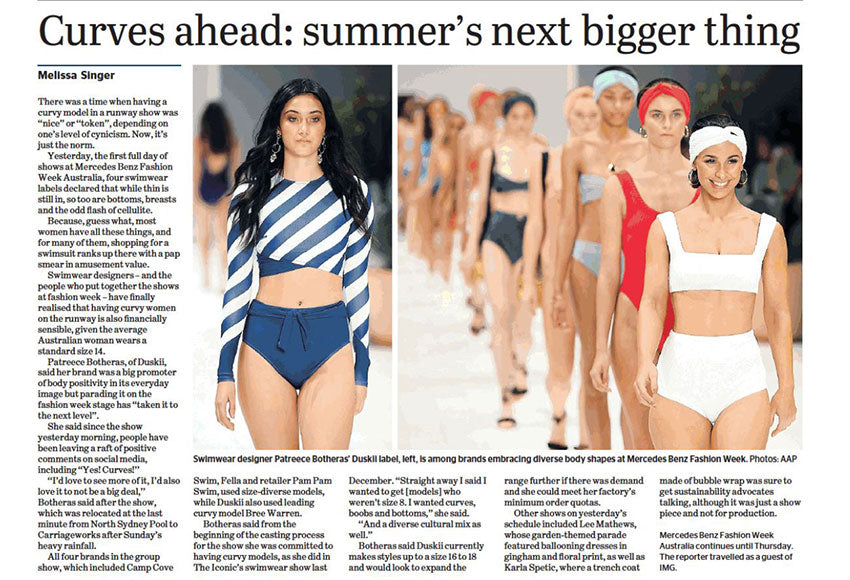 The Age Newspaper | @theageaustralia | May 15th 2018