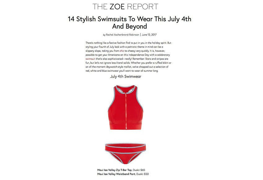 www.thezoereport.com | June 2014