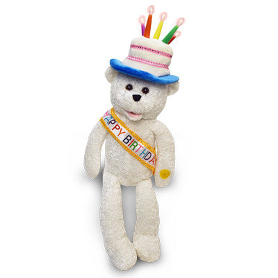 birthday singing bear g1137