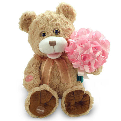 bouquet bear g0678b