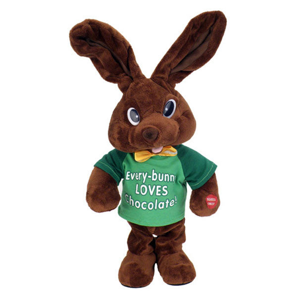 chocolate bunny green g3107 1