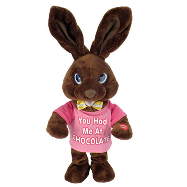 chocolate bunny pink g3107 2