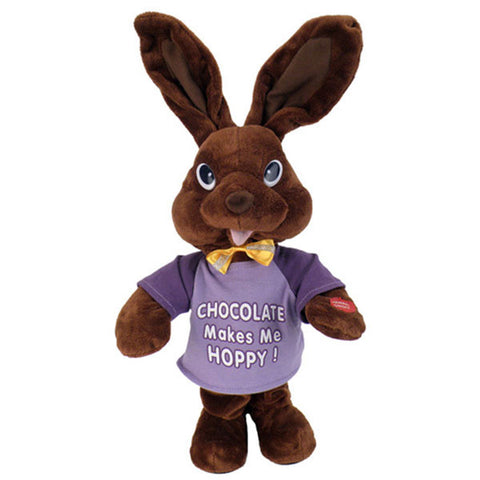 chocolate bunny purple g3107 3