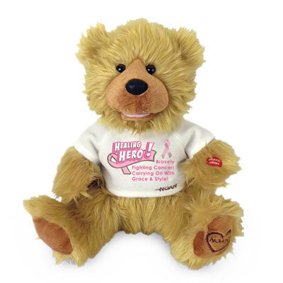 noah breast cancer awareness bear
