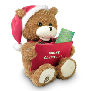 record a voice christmas bear g5060b