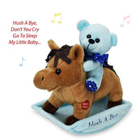 rocking horse hush a bye blue