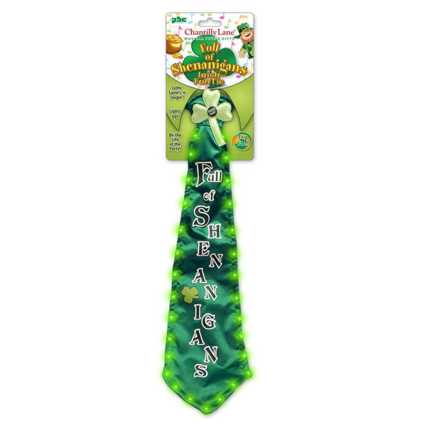 singing_ rish neck tie g1203