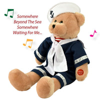 singing sailor bear