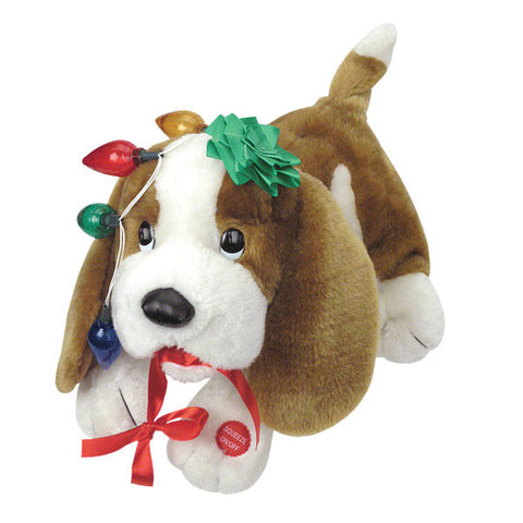 trouble musical christmas puppy g5002