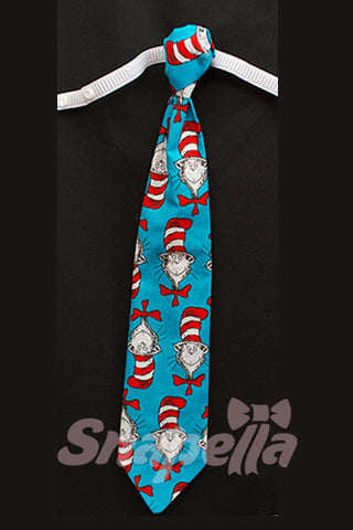 Cat in the Hat Tie and Bow Tie