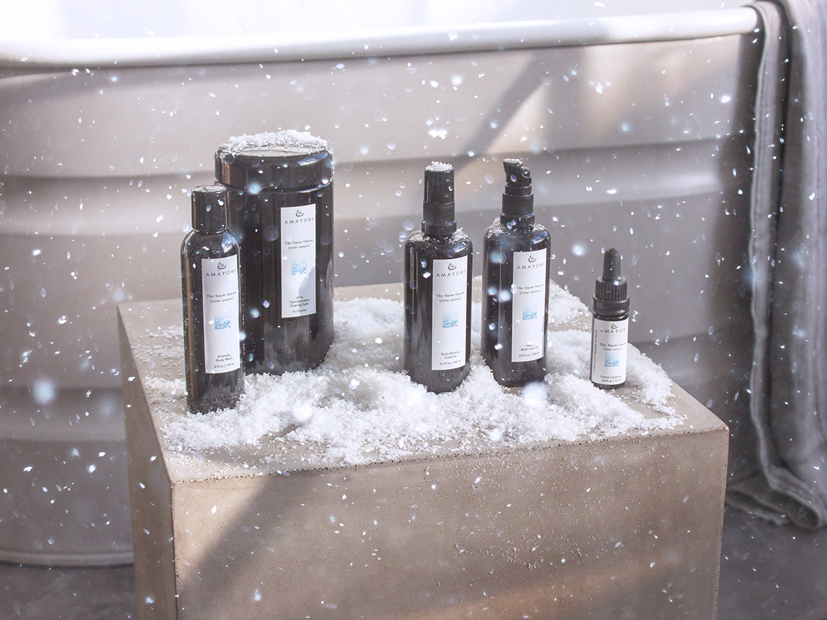Snow Onsen, Aromatic Journey Set, Amayori