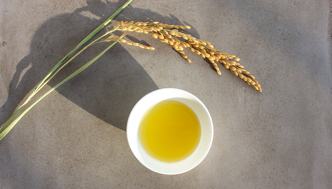 Rice Bran Oil, Japanese Skincare Ingredients, Amayori