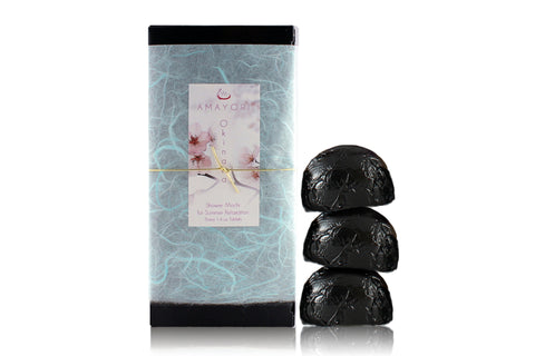 Amayori Okinawa Shower Mochi Unwrapped