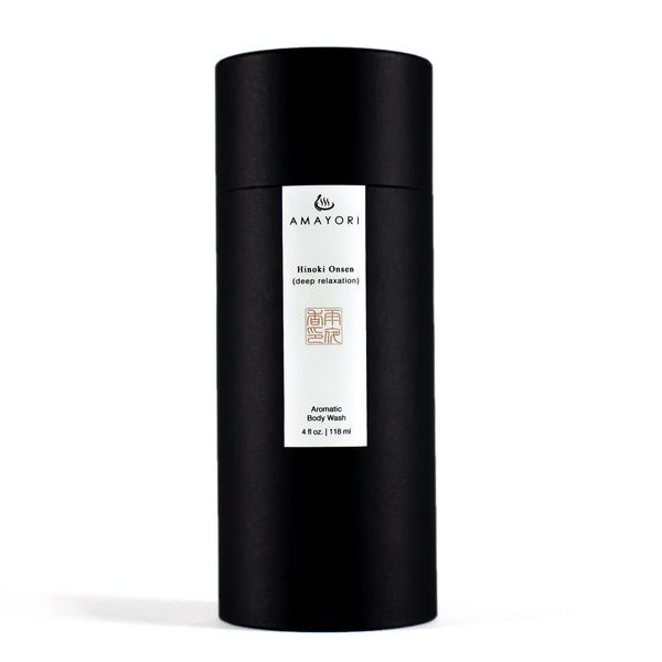 Hinoki Body Wash, Hinoki Onsen Aromatic Body Wash, Box, Amayori