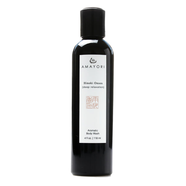 Hinoki Body Wash, Luxury Body Wash, Hinoki Onsen Aromatic Body Wash, Amayori