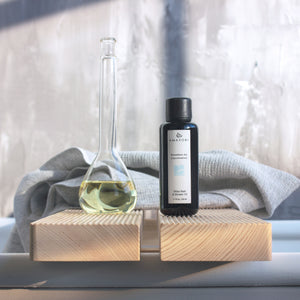 Japanese Bath Oil, Hinoki Bath Oil, Japanese Bath Products, Luxurious Bath Oil, Rotenburo Air Shiso Bath Oil, Lifestyle, Amayori