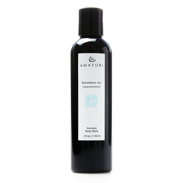 Amayori, Rotenburo Air Aromatic Body Wash, Japanese Body Care Products, Japanese Bath Products