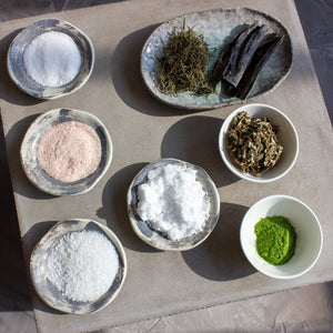 Amayori, Japanese Bath Salts, Shizumi Luxury Bath Salts Ingredients, Hinoki Onsen, Amayori