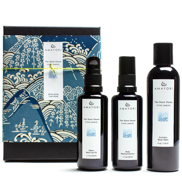 The Snow Onsen Winter Body Care Ritual Set