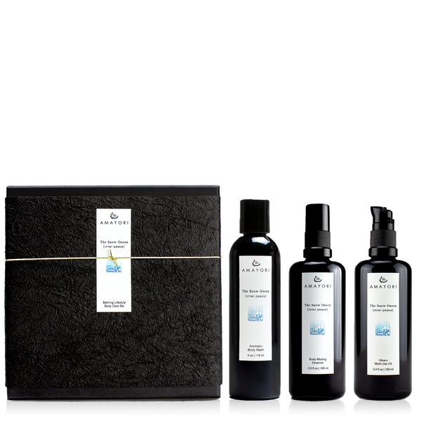 The Snow Onsen Bathing Lifestyle Body Care Set
