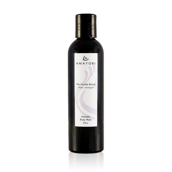 Luxury Body Wash, The Geisha Ritual Aromatic Body Wash, Amayori
