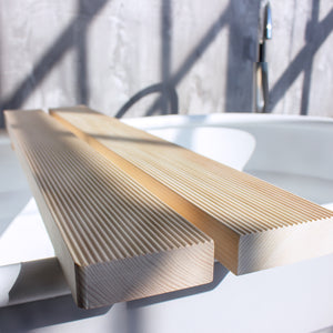 Hinoki Bath Caddy, Hinoki Wood Bath Tray, Hinoki Bathtub Tray, Amayori