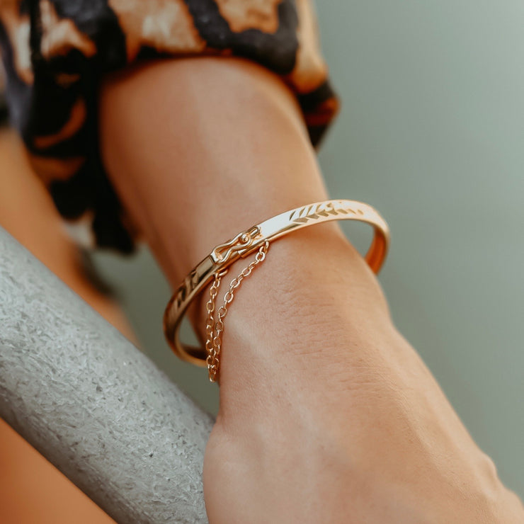 Shadee Bangle Bracelet