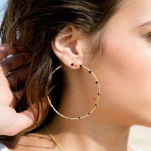Load image into Gallery viewer, Jamini Black Earrings - Outlette Jewelry