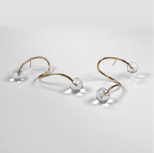 Load image into Gallery viewer, Double Dew Earrings - Outlette Jewelry