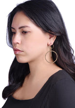Load image into Gallery viewer, Gabriella Hoop Earrings - Outlette Jewelry