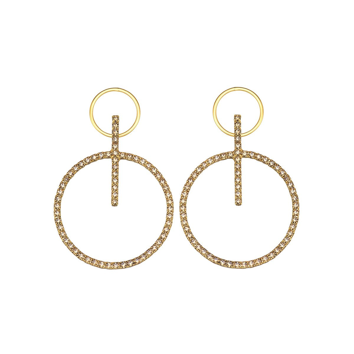 Gabriella Hoop Earrings - Outlette Jewelry