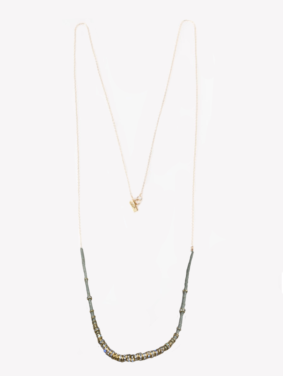 Storm Long half Necklace - Outlette Jewelry