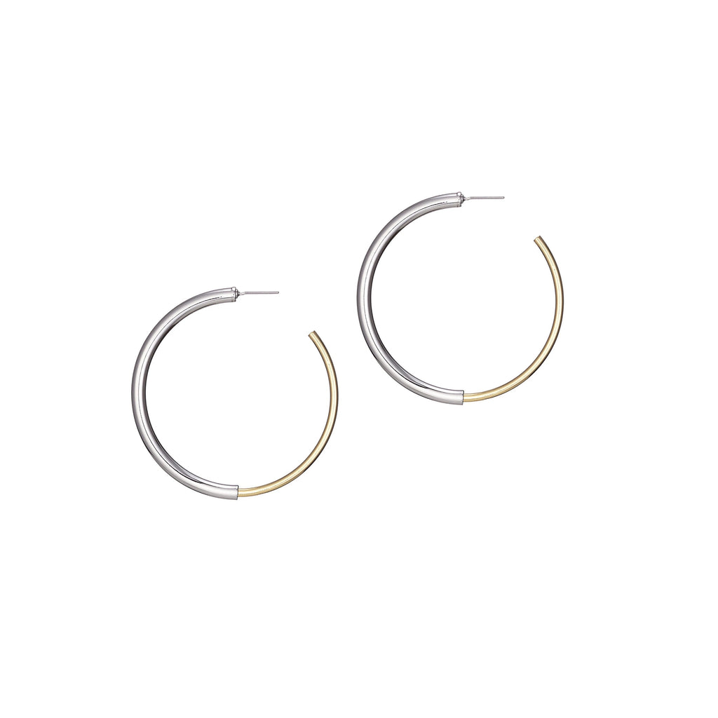 Jenny Bird Two Tone Lola Hoops