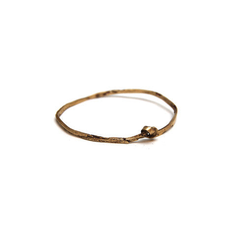 Brass Multi Single knot Bangle