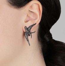 Load image into Gallery viewer, Swallow Stud Earrings - Outlette Jewelry