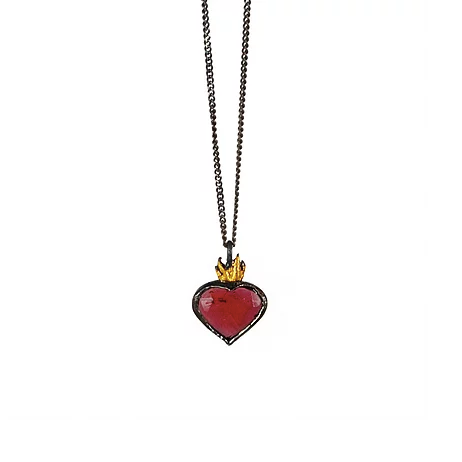 Sacred Heart Necklace - Outlette Jewelry