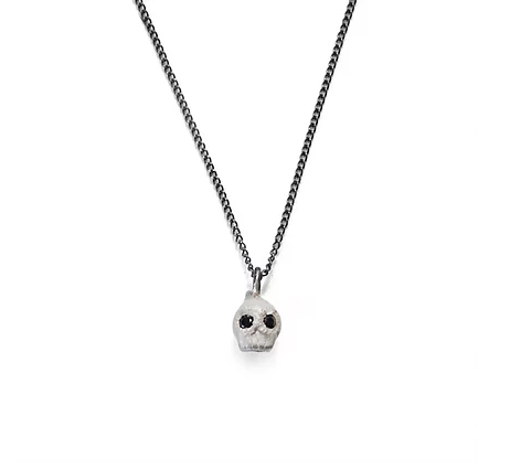 White Skull Necklace - Outlette Jewelry
