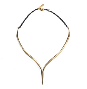 Merging Quill Choker - Outlette Jewelry