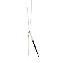 Load image into Gallery viewer, Porcupine Quill Pendant - Outlette Jewelry