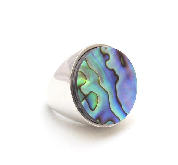 Abalone Balloon Ring - Outlette Jewelry