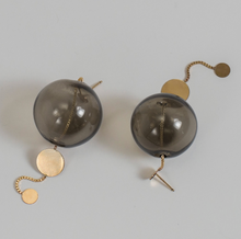Load image into Gallery viewer, Glassy Orbit Earrings - Outlette Jewelry